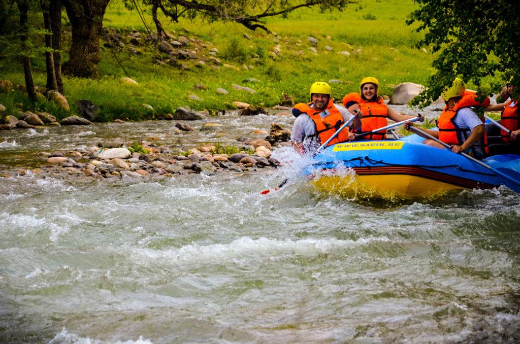 Рафтинг по реке Тургенька