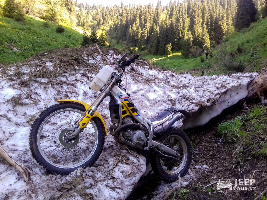 Мото-Вело восхождение на пик Букреева